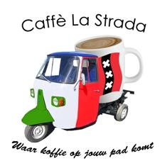 mobiele espressobar huren logo caffe la strada